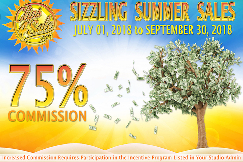 Clips4Sale Announces Sizzling Summer Sales